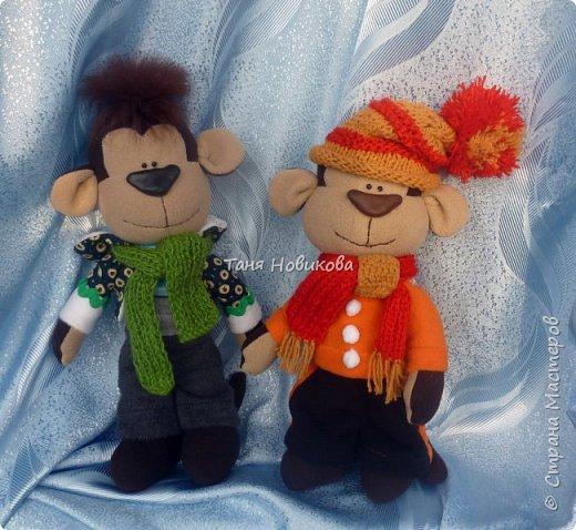 Всем здравствуйте!  С Рождеством Христовым! Вот такие игрушки пошились из флиса. фото 1