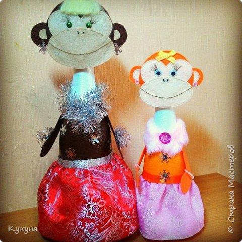 Обезьянки с конфетками (типа М&Мs или Скиттлз) в животе. В подарок деткам.... фото 5