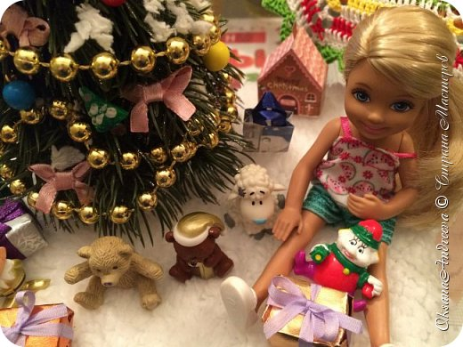 Вот такие стол и елочка были на Новый год в нашем маленьком домике. фото 8