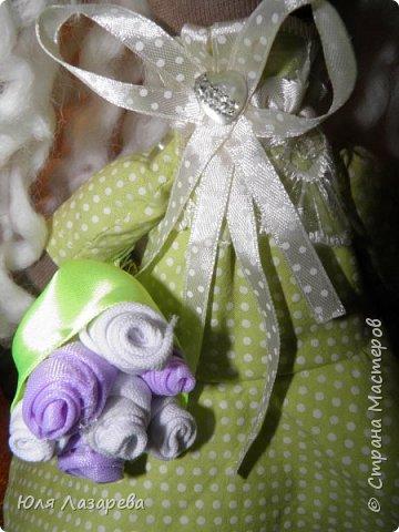 Кукла текстильная (большеножка) фото 2