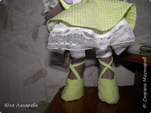 Кукла текстильная (большеножка) фото 3