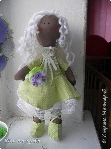 Кукла текстильная (большеножка) фото 1
