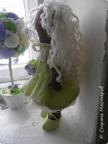 Кукла текстильная (большеножка) фото 4