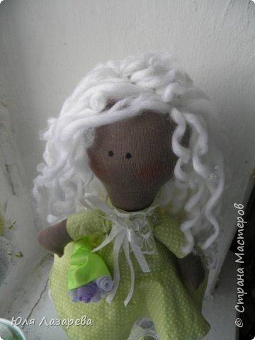 Кукла текстильная (большеножка) фото 5
