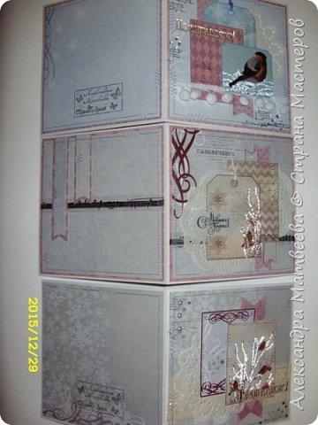 """Новогодняя серия открыток """"А на ветках снегири..."""" (и синицы))) фото 14"""