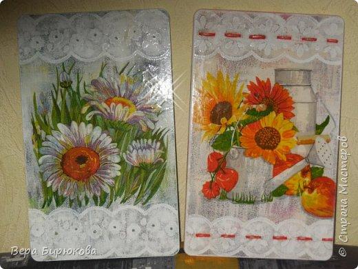 Вот такие досочки я сделала, что бы подарить моим тётушкам и з Москвы и Минска(честно, так и не спросила какая, куда уехала) фото 1
