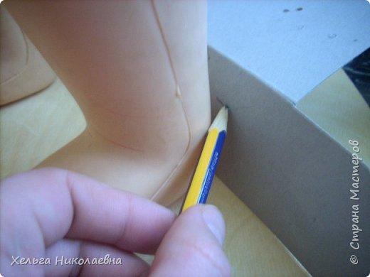 Здравствуй, Страна Мастеров! Представляю вашему вниманию мк сандаликов для куклы. Может кому-нибудь пригодится. фото 6