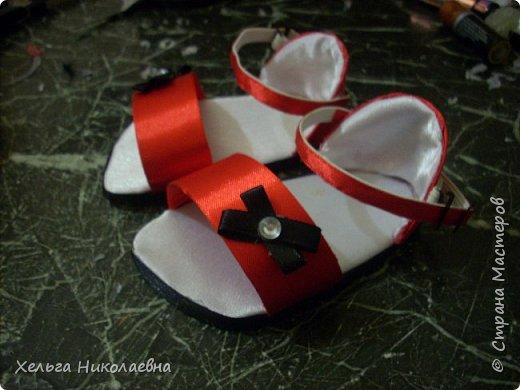 Здравствуй, Страна Мастеров! Представляю вашему вниманию мк сандаликов для куклы. Может кому-нибудь пригодится. фото 31