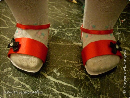 Здравствуй, Страна Мастеров! Представляю вашему вниманию мк сандаликов для куклы. Может кому-нибудь пригодится. фото 1