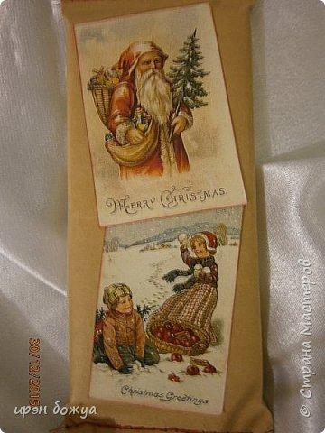Новый год пора подарков. Вот и я сделал подарки для сотрудников отдела. В этом году украсила шоколадки в крафтбумагу и задекорировала их. фото 9