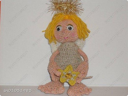 Рождественский ангел, связан мной для участия в конкурсе: фото 1