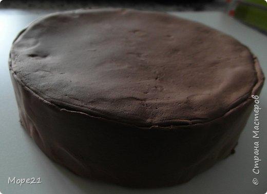 Представляю пошаговый материал с описанием изготовления праздничного торта из полимерного пластилина (массы для лепки), который является одним из самых популярных товаров для детского творчества. Торт – это не обычное лакомство, а воплощение кулинарного таланта кондитеров.  Мой мастер-класс рассчитан на тех, кто любит лепить из пластилина, а также изучать и придумывать рецепты вкусных блюд.   фото 9