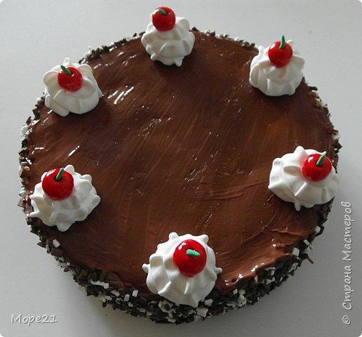 Представляю пошаговый материал с описанием изготовления праздничного торта из полимерного пластилина (массы для лепки), который является одним из самых популярных товаров для детского творчества. Торт – это не обычное лакомство, а воплощение кулинарного таланта кондитеров.  Мой мастер-класс рассчитан на тех, кто любит лепить из пластилина, а также изучать и придумывать рецепты вкусных блюд.   фото 38