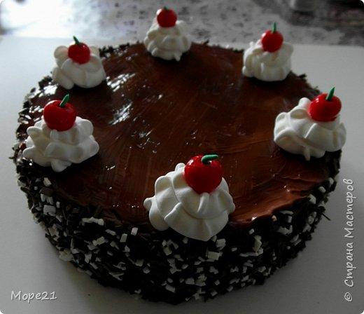 Представляю пошаговый материал с описанием изготовления праздничного торта из полимерного пластилина (массы для лепки), который является одним из самых популярных товаров для детского творчества. Торт – это не обычное лакомство, а воплощение кулинарного таланта кондитеров.  Мой мастер-класс рассчитан на тех, кто любит лепить из пластилина, а также изучать и придумывать рецепты вкусных блюд.   фото 39
