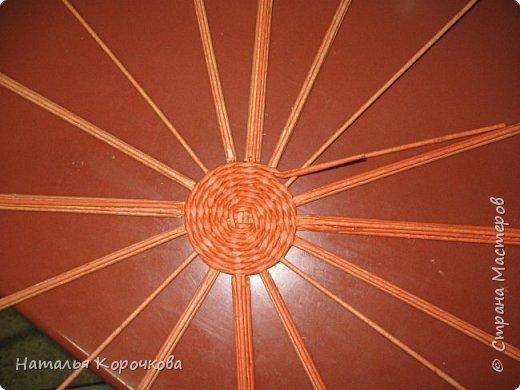 Приветствую всех, кто заглянул ко мне в гости! Нравятся мне тыквы, они настроение создают оранжевое. Сплела себе и любуюсь теперь. фото 5