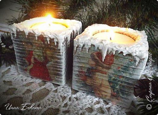 Доброго Рождественского дня ! Поздравляю всех со светлым праздником! Выставляю на ваш суд подсвечники. Много писать не буду.прошу вас оценить. фото 7