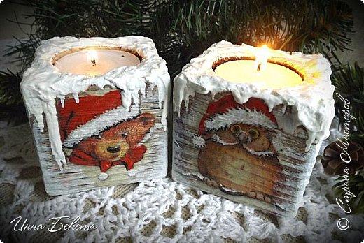 Доброго Рождественского дня ! Поздравляю всех со светлым праздником! Выставляю на ваш суд подсвечники. Много писать не буду.прошу вас оценить. фото 1