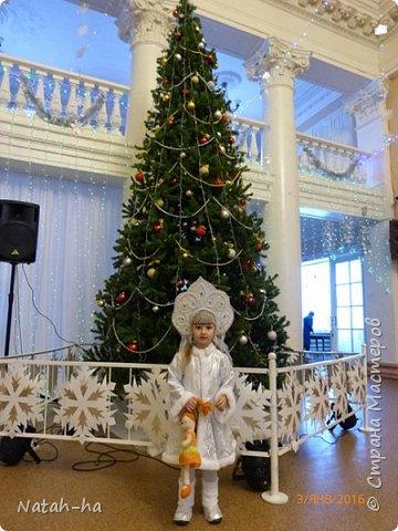 Вот такой костюм Зимушки я соорудила для дочки в этом году. фото 1