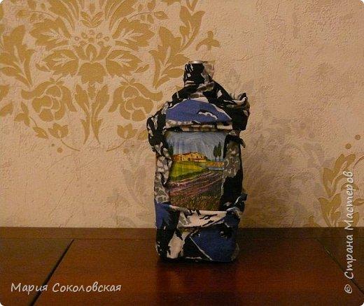 Декор 5 бутылочек в разных техниках фото 2