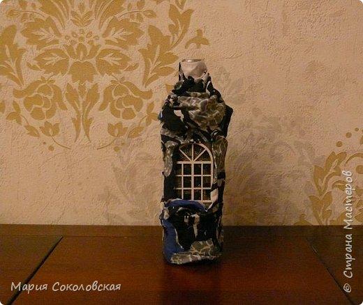 Декор 5 бутылочек в разных техниках фото 3
