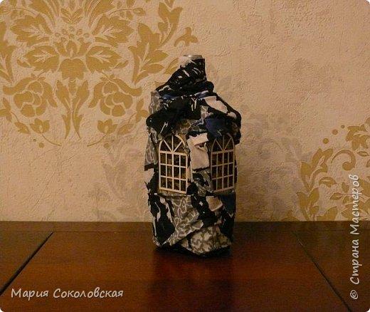 Декор 5 бутылочек в разных техниках фото 4