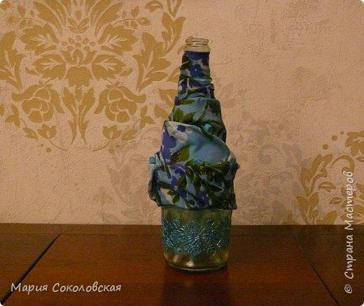 Декор 5 бутылочек в разных техниках фото 8