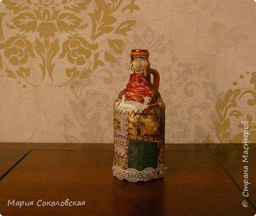 Декор 5 бутылочек в разных техниках фото 10