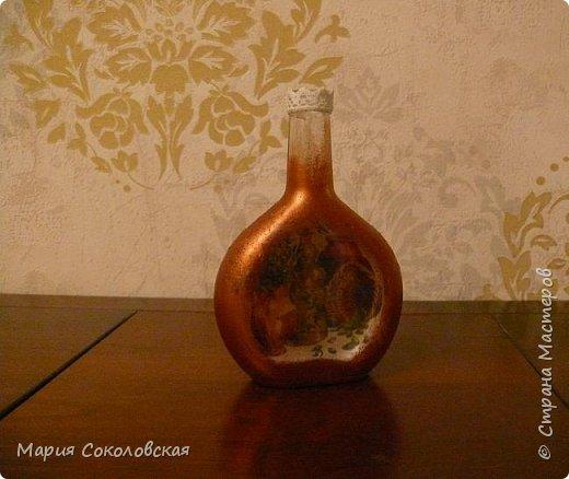 Декор 5 бутылочек в разных техниках фото 13