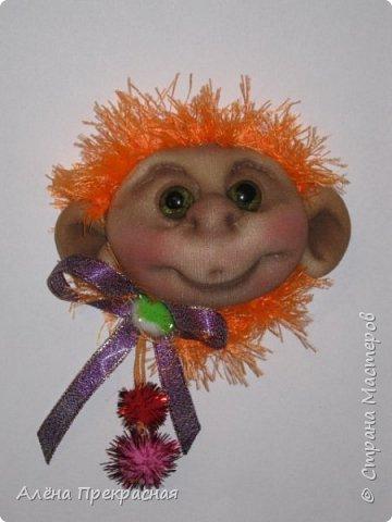 Магниты- обезьянки фото 1