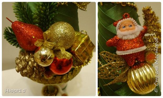 С Рождеством Христовым! В этот светлый праздник хочется пожелать мира и спокойствия в каждом доме, добра, взаимопонимания, достатка, любви, счастья, душевного равновесия, успехов во всех начинаниях, побольше радости, крепкого здоровья и всех благ! Пусть оправдаются все ожидания и сбудутся самые заветные мечты!  Вот и я насмотрелась на ваши елочки и сделала несколько штук:) фото 24