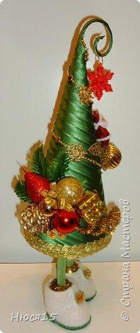 С Рождеством Христовым! В этот светлый праздник хочется пожелать мира и спокойствия в каждом доме, добра, взаимопонимания, достатка, любви, счастья, душевного равновесия, успехов во всех начинаниях, побольше радости, крепкого здоровья и всех благ! Пусть оправдаются все ожидания и сбудутся самые заветные мечты!  Вот и я насмотрелась на ваши елочки и сделала несколько штук:) фото 22