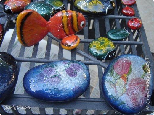 Всем привет! Подсмотрел в инете идею разукраски камней, решил попробовать -а почему бы и нет?! Камни есть, краска тоже. Вперед! фото 7