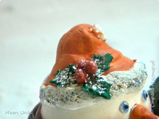 Хорошо лепить снеговиков, сидя дома, руки не мерзнут и щек мороз не щипет:) А морозец у нас нынче знатный, за 30 градусов, не разгуляешься) фото 4