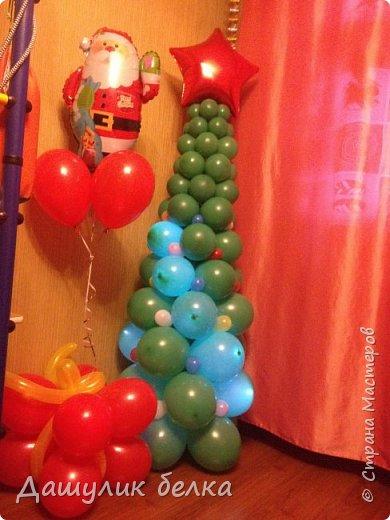 Елочка из шариков фото 1