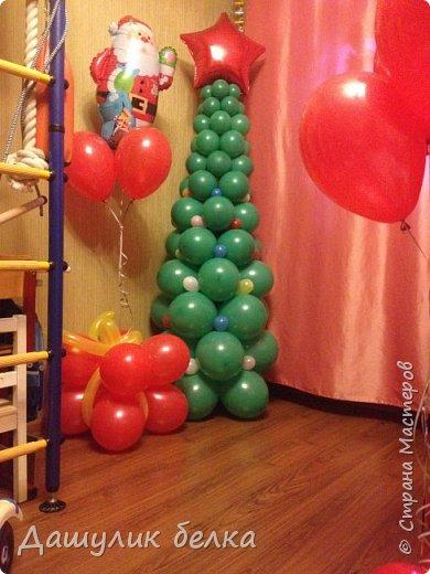 Елочка из шариков фото 2