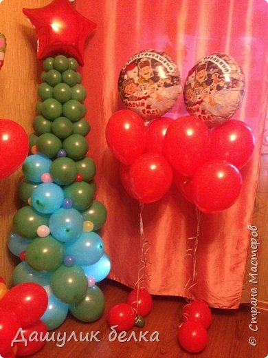 Елочка из шариков фото 3