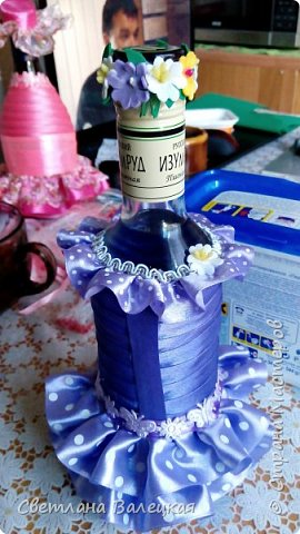 мои бутылочки и бокалы фото 11