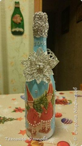 Новогодняя бутылочка фото 1