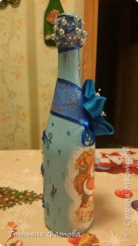 Новогодняя бутылочка фото 3