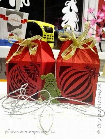Здравствуйте, дорогие жители Страны Мастеров! Как и все вокруг, мы тоже готовимся к Новому году и Рождеству! Вот такая шоколадница отправилась в подарок учителю танцев моей доченьки! фото 5