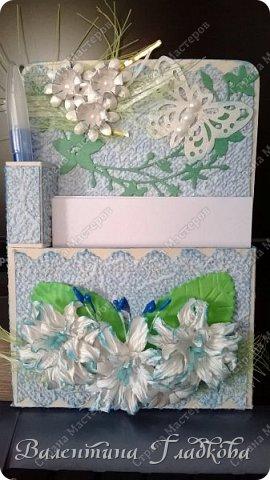Здравствуйте, соседи СМ! Хочу показать вам серию органайзеров - магнитиков на холодильник. Они все похожи друг на друга, потому что делались для коллег в подарок. фото 6