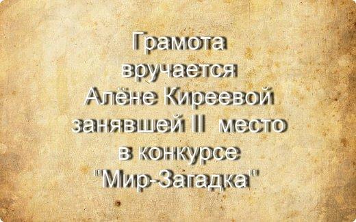 "Итоги конкурса ""Мир-Загадка"" фото 4"