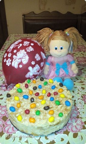 Любимый тортик для любимой доченьки!!!