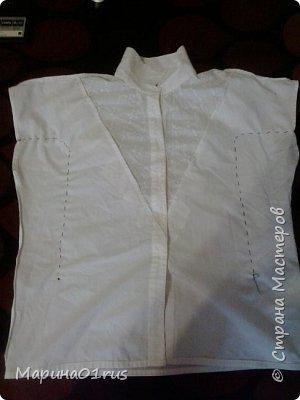 В один прекрасный день достала блузку и решительно перекроила дочке. фото 2