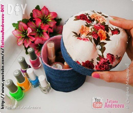 Шкатулка для женских мелочей своими руками МК фото 1