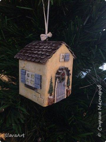 Домик на елку фото 1