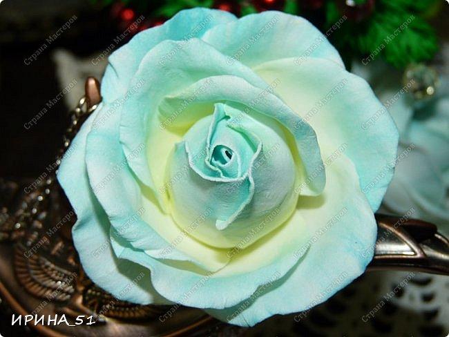 Здравствуйте! Сегодня я к Вам с новым Мк. Простая роза с тонировкой сухой пастелью. Мастер-класс. Автор Ирина_51 (вы можете найти меня  в контакте по имени  Ирина Сашина) фото 44