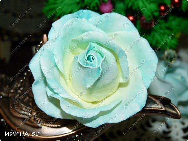 Здравствуйте! Сегодня я к Вам с новым Мк. Простая роза с тонировкой сухой пастелью. Мастер-класс. Автор Ирина_51 (вы можете найти меня  в контакте по имени  Ирина Сашина) фото 45