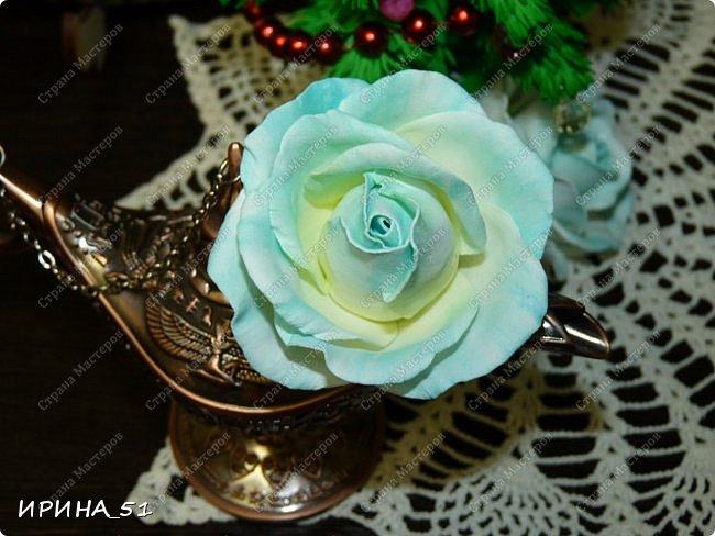 Здравствуйте! Сегодня я к Вам с новым Мк. Простая роза с тонировкой сухой пастелью. Мастер-класс. Автор Ирина_51 (вы можете найти меня  в контакте по имени  Ирина Сашина) фото 46