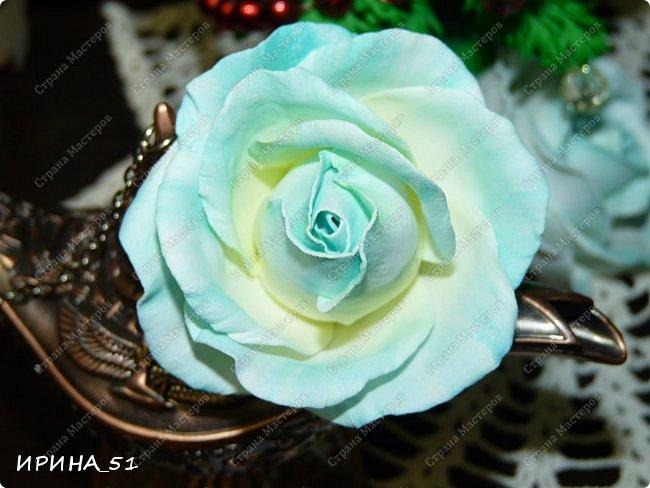 Здравствуйте! Сегодня я к Вам с новым Мк. Простая роза с тонировкой сухой пастелью. Мастер-класс. Автор Ирина_51 (вы можете найти меня  в контакте по имени  Ирина Сашина) фото 42